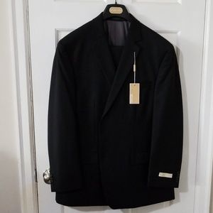 Michael kors 2 piece black stripe wool 46R 39W